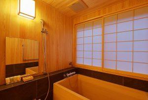 富士屋旅館 檜風呂