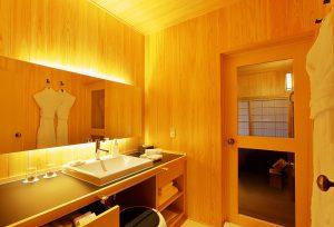 富士屋旅館 新館 和室 脱衣所